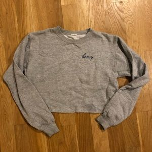 Brandy Melville honey crewneck